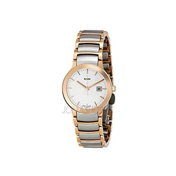 RADO Women's Centrix - R30555103 Two-Tone Silver/Rose Gold One Size