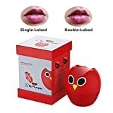 Lip Plumper Device,4 Color Lip Filler Plumping Device,Natural Fuller Thicker Sexy Quick Lip Enhancement Enlarger Tool (Owl color)