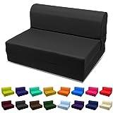 Magshion BK36 Folding Bed Mattress, Twin (5x36x70), Black