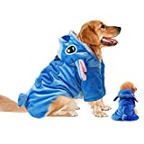 Gimilife Pet Costume, Dog Hoodie,Pet Xmas Pajamas Outfit, Pet Coat for Small Medium Large Dogs and Cats,Pet Disney Stitch Cartoon,Halloween and Winter XXL