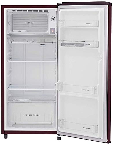 41P3qmN SqL Whirlpool 190 L 3 Star Direct-Cool Single Door Refrigerator (WDE 205 CLS PLUS 3S WINE TWINKLE, Wine Twinkle)