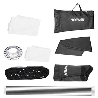 Neewer-32x32inches80x80centimeters-Octagon-Flash-Softbox-with-Grid-and-Bowens-Mount-Speedring-Compatible-with-Nikon-Canon-Sony-Pentax-Olympus-Panasonic-Lumix-Neewer-Flash