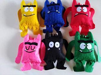 Muñecos «El Monstruo de colores»