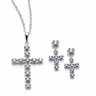 Cross Bridal Jewelry