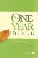 The One Year Bible NIV by [Tyndale]
