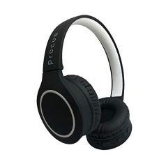 Procus Urban Bluetooth On-Ear Foldable Headphones, High Bass with Microphone (Mobile/PC/TV) (Black)