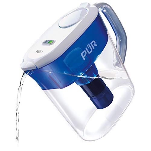 PUR PPT111W Ultimate Filtration Water Filter Pitcher, 11 Cup, White 1