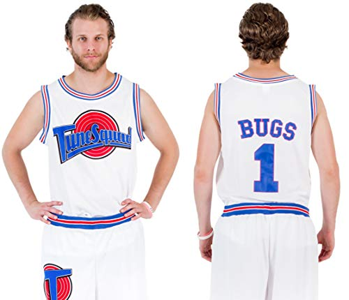 Space Jam Tune Squad Basketball Jersey (XXX-Large, Bugs Bunny)