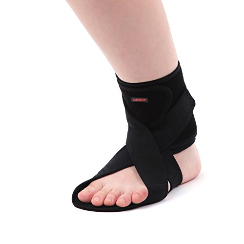 AIDER Dropfoot Braces Type 3 - Foot stabilizer Worn with Shoes, Prevent Inversion of feet,...