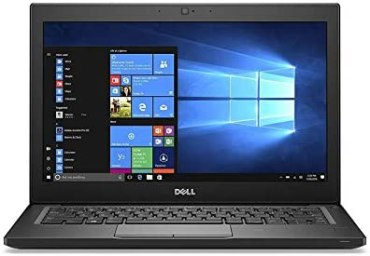 (Renewed) Dell Latitude E7280 12.5-Inch Laptop (Core i5 6th Gen/16GB RAM/256GB SSD/Windows 10 Pro/MS Office 2019/More than 4 GB Intel Integrated Graphics,Backlit Keyboard), Black