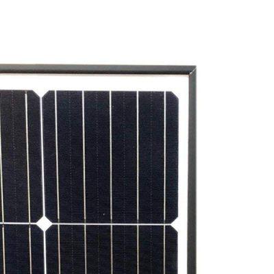 Solarmodul-Photovoltaik-300W-Rahmen-Schwarz-Monokristalline-Haus-Alpenhutte