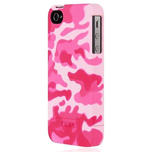 Incipio iPhone 4/4s Case, [Hard Shell] [Slider Case] Edge Case for iPhone 4/4s-Pink Camo