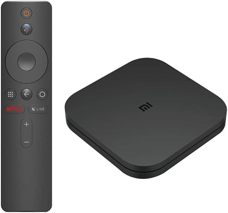 Xiaomi Mi Box S 4 K HD Android 8.1 Quadcore Portable Media Player EU Plug
