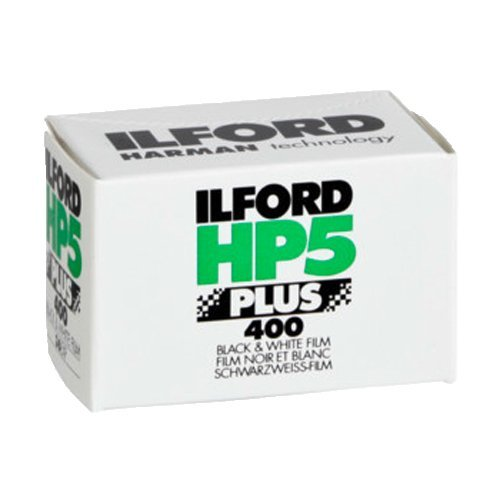 Ilford 1574577 HP5 Plus, Black and White Print Film, 35 mm, ISO 400, 36 Exposures