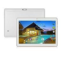 ibowin® M130 10.1inch MediaTek Quad core tablet PC 1280x800 IPS Risoluzione 1G RAM 16G ROM 3G WCDMA 2G GSM 2SIM Schede PC cellulare WIFi Bluetooth (Bianco)