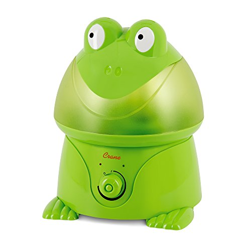 Crane USA Cool Mist Humidifier for Kids, Frog