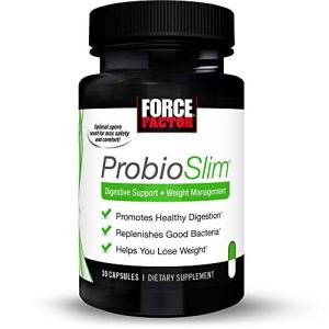 Force Factor Probioslim Probiotics + Weight Loss Supplement, Burn Fat, Lose Weight, Reduce Gas, Bloating, Constipation… 12