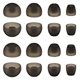 ALXCD Ear Adapters for Sennheiser Momentum HD1 In-Ear Earbud, XS/S/M/L 4 Sizes 8 Pair Soft Silicone Replacement Ear Tip Ear Adapters, Fit for Sennheiser Earphone Momentum (8 Pairs)