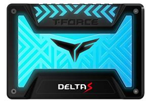 TEAMGROUP T-Force Delta S RGB 250GB 2.5' SATA III 3D NAND Internal Solid State Drive SSD(12V) - Black