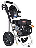 Pulsar Products 2,700 PSI Built-in Soap Tank & Electric Push Start, PWG2700VE 2700PSI Gas Powered Pressure Washer