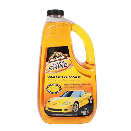 Armor All 10346 64 Ounce Ultra Shine Wash And Wax