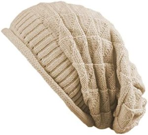 Jiuhong Women Knit Beanie Baggy Oversize Winter Warm Hat Soft Slouchy Beanie Skully Cap