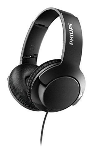 Philips SHL3175BK/00 Headphones with Mic (Black)