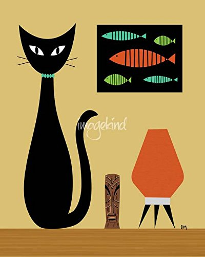 Playful, Cool and Spunky Cat Wall Decor | Home Wall Art Decor