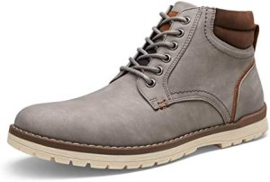 VOSTEY Men's Boots Casual Boots for Men Winter Hiking Boots