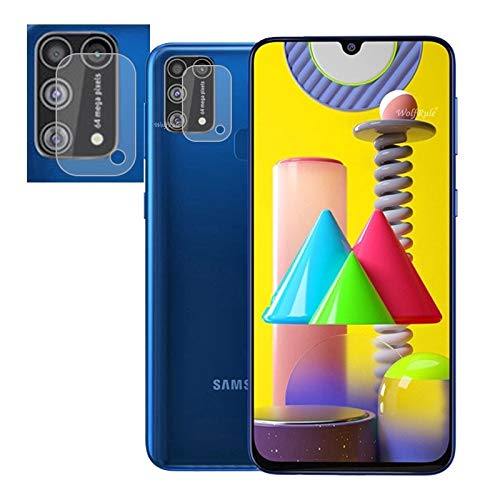 Prime Retail Camera Lens Protector for Samsung Galaxy M31, Lens Protector Shield Tempered Glass 2.5D Edges 135