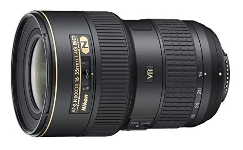 Nikon AF-S FX NIKKOR 16-35mm f/4G ED Vibration Reduction Zoom Lens with Auto Focus for Nikon DSLR Cameras