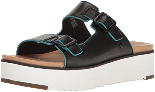 Leather upper with enameled metal hardware Insole: Imprint by UGG lined with leather Outsole: Treadlite by UGG with rubber toe and heel for incredibly lightweight traction, cushioning