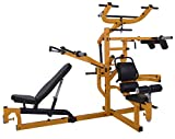 Powertec Fitness Workbench Multi System, Yellow