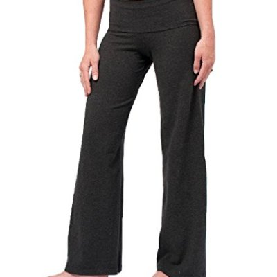 Hardtail wide leg yoga pants