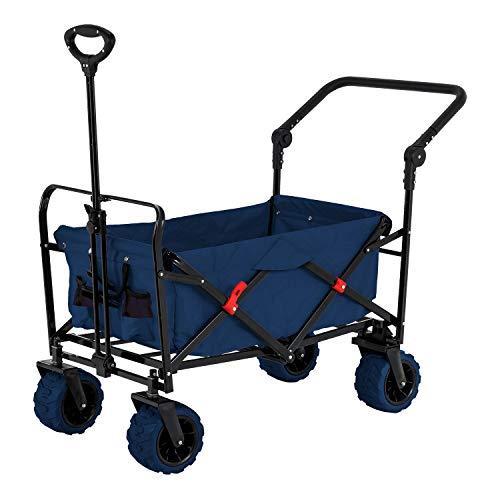 Blue Wide Wheel Wagon All Terrain...