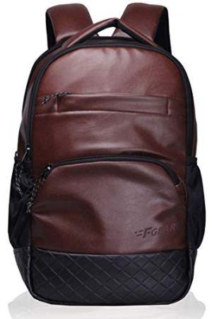 F Gear Luxur Brown 25 Liter Laptop Backpack (2404)