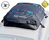 P.I. AUTO STORE ROOFMASTER The Ultimate Car Rooftop Cargo Carrier for All Vehicle Roof Racks. Truck Cargo Bag. Unique Waterproof Design - Universal - 16 Cu ft