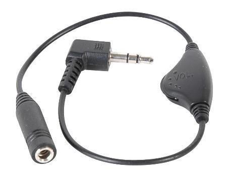 Inline Volume Control for 3.5MM Headphones,Black