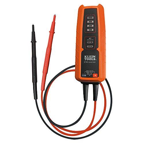 KLEIN TOOLS ET50 Electronic Voltage Tester AC/DC voltage range 120 - 600V