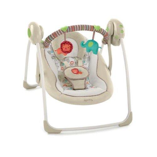 Comfort & Harmony Cozy Kingdom Portable Baby Swing, Best Baby Swings