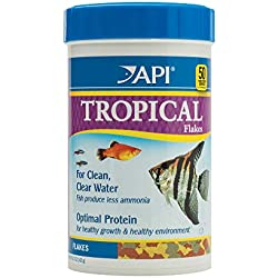 API TROPICAL FLAKES Fish Food 5.7-Ounce Container