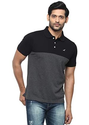 AMERICAN CREW Men's Regular Fit Polos