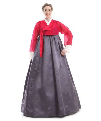 61FXPawjRBL We make this beautiful Hanbok just for you. Please give us your 4 sizes: Height and the other 3 sizes referring to the body measurement picture 100% highest quality silk