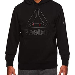 Reebok Men's Performance Pullover Hoodie - Graphic Hooded Activewear Sweatshirt 5 Fashion Online Shop Gifts for her Gifts for him womens full figure