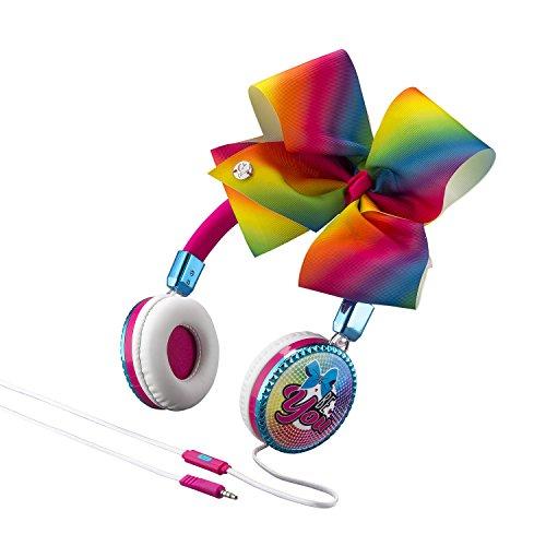 JoJo Siwa Bow Fashion Headphones w/ Built in Microphone