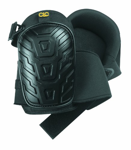 CLC Custom Leathercraft  Professional Kneepads with Supportive Gel Cushion, Breathable Neoprene Straps, and Over Sized Caps for More Coverage ideal for Gardening, Flooring, Cleaning and Construction