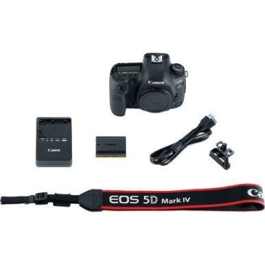 Canon-EOS-5D-Mark-IV-Full-Frame-Digital-SLR-Camera-Body-Canon-BG-E20-Grip-Sandisk-Extreme-64GB-U3-Card-Polaroid-LED-Video-Light-Microphone-72-inch-Monopod-Ritz-Gear-Backpack-Accessory-Bundle