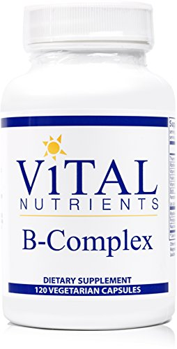 Vital Nutrients – B-Complex – Balanced High Potency B Vitamin Complex
