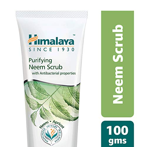 41RLBhadJJL Himalaya Herbals Purifying Neem Scrub, 100gm