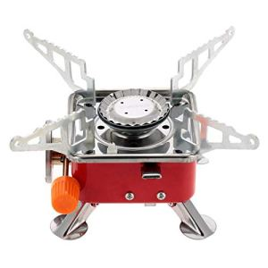 Portable Square Shaped Butane Gas Burner for Picnic